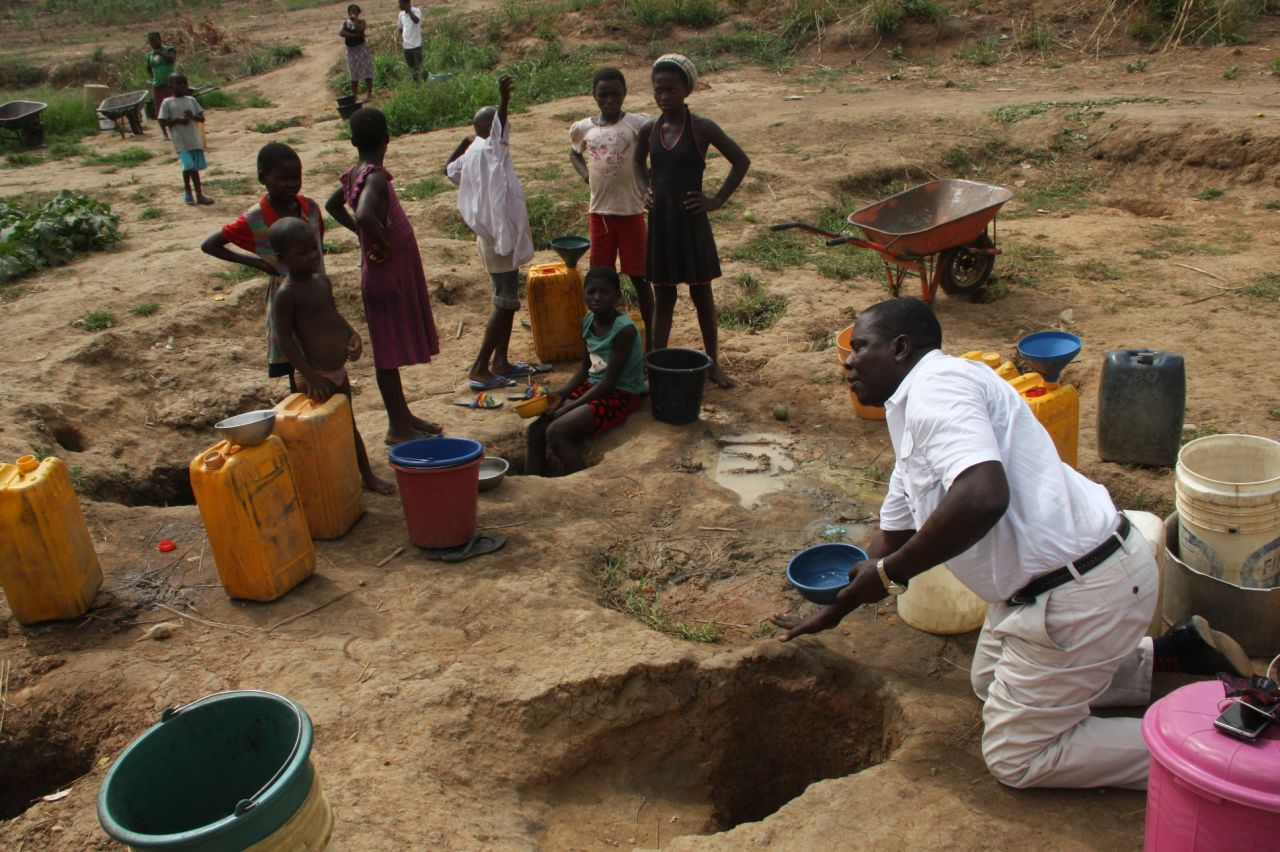 To fetch water.